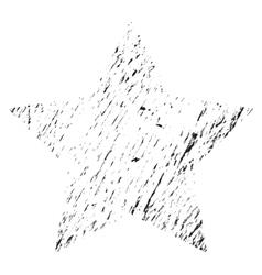 Star Grunge vector image