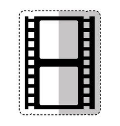 tape film record isolated icon vector image vector image