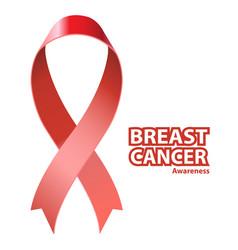 symbol breast cancer awareness vector image