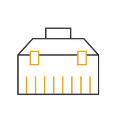 tools box isolated icon vector image
