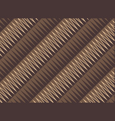 art deco triangle seamless pattern background vector image
