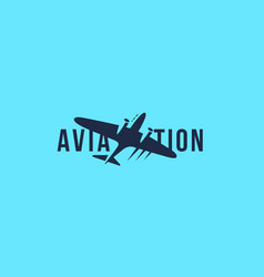 aviation logo vector image