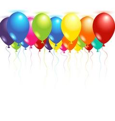 Ceiling balloons vector