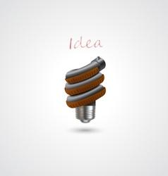 -light bulbs vector image