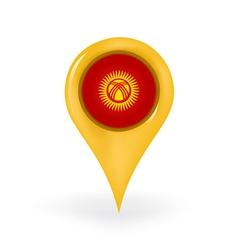 Location Kyrgyzstan vector