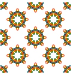 Seamless geometric abstract pattern vector image