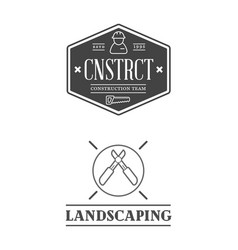 set real estate construction building icons vector image