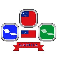 symbol of Samoa vector image