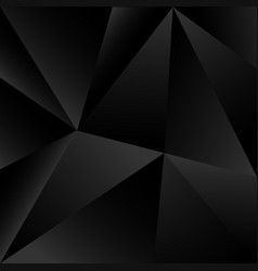 triangle black shape abstract background vector image