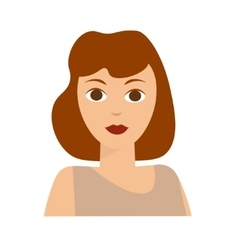 French Woman Flat vector image