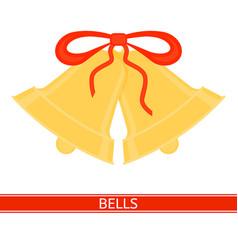 jingle bells isolated vector image