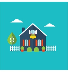 house home vector image vector image