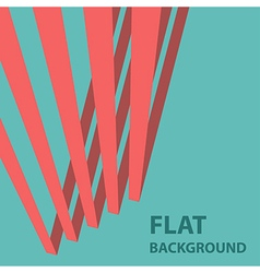 flat background 1 vector image