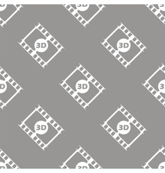 3d film seamless pattern vector image