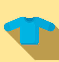 baby sweater icon flat style vector image