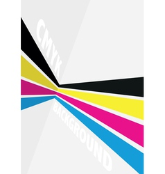 cmyk spash background vector image vector image