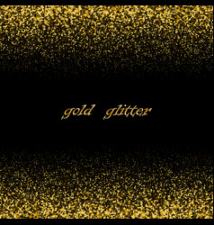festive christmas and new year backgroundgold vector image