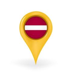 Location Latvia vector