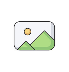 Placeholder rgb color icon vector
