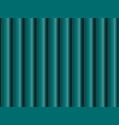 Seamless pattern turquoise metal pipes vector