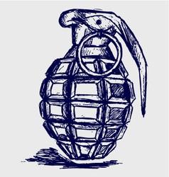 Grenade vector image vector image