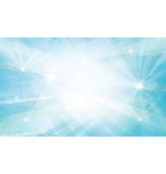 blue background lights rays vector image vector image