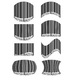 Barcode 10 vector
