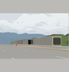 Build a new road scene vector
