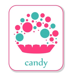 Candy icon vector
