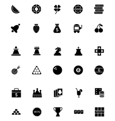 Casino and Gambling Icons 2 vector image