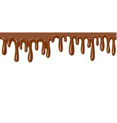 Chocolate flows vector