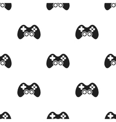 Controller black icon for web and vector image