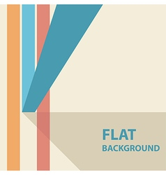 flat background 3 vector image vector image
