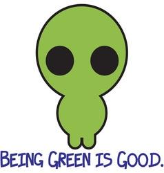 Green is Good vector