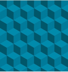 isometric cube pattern vector image