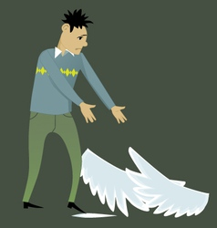 Lost wings vector