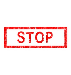 office stamp stop vector image