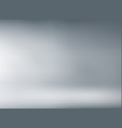 studio room gray background with soft lighting vector image