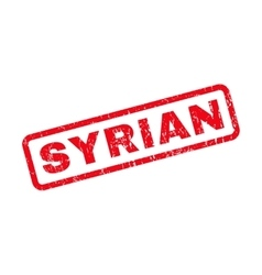 Syrian Rubber Stamp vector