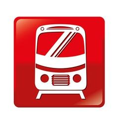 Transport design over white background vector