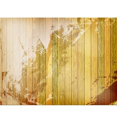 Vintage wood background template plus EPS10 vector image vector image