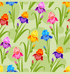 Beautiful watercolor flower set handmade style vector