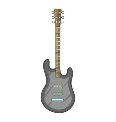 Electric guitar icon cartoon style vector image