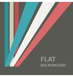 flat background 4 vector image