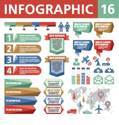 Infographic Elements 16 vector image vector image