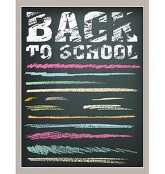 Back to School strokes vector
