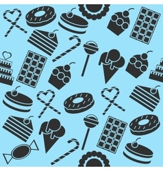 Cafe and Confectionery collage vector