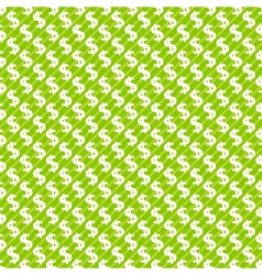 Dollar sign abstract seamless pattern background vector