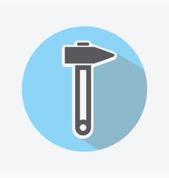 Hammer Color Icon vector image