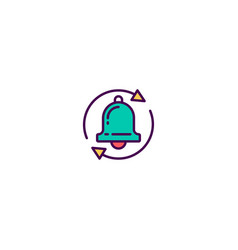 modern and minimalist icon design management icon vector image